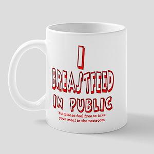 Breastfeeding in Public Advoc Mug