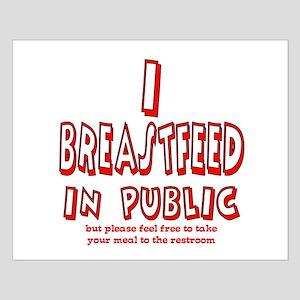 Breastfeeding in Public Advoc Small Poster