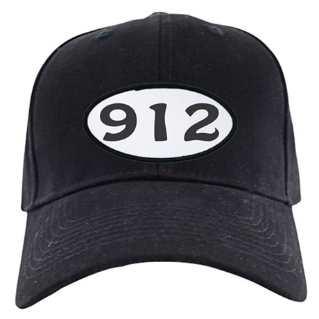 912 Area Code Black Cap