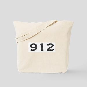912 Area Code Tote Bag