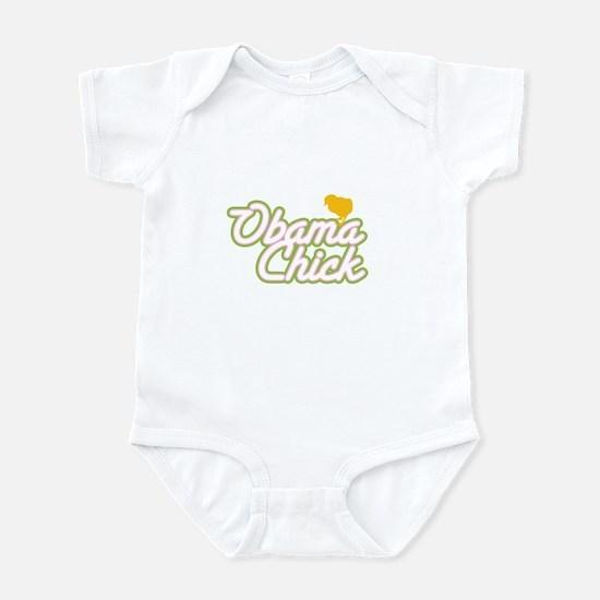 Obama Chick (yellow chick) Infant Bodysuit