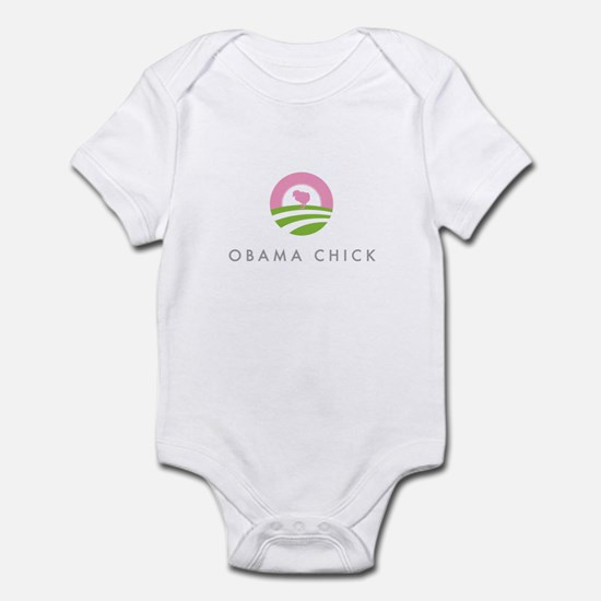 Elegant Obama Logo Infant Bodysuit