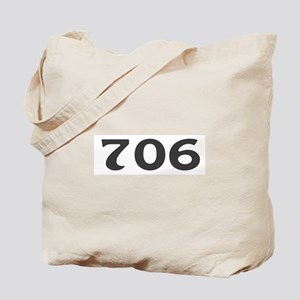 706 Area Code Tote Bag