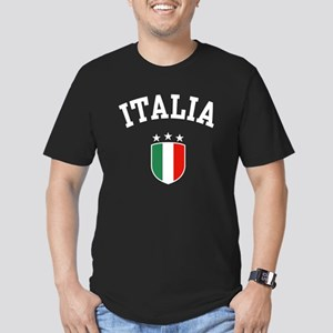 Italia Men's Fitted T-Shirt (dark)
