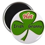 "Hot Irish Granny 2.25"" Magnet (10 pack)"