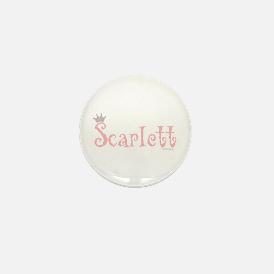 Onederful Scarlett (5) Mini Button