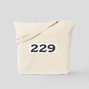 229 Area Code Tote Bag