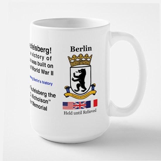 Save Teufelsberg! Large Mug
