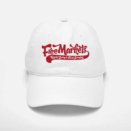 Free Markets Baseball Baseball Cap