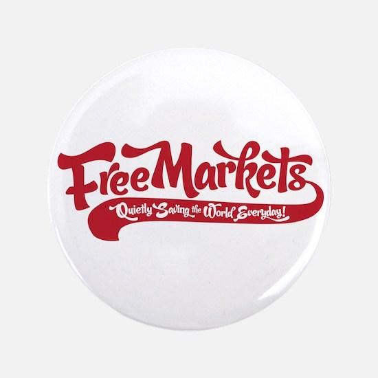 "Free Markets 3.5"" Button"