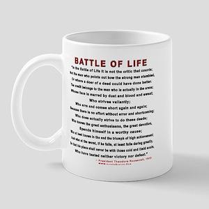 """""""Man in the Arena""""  Mug"""