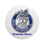 3ID Command Group Ornament (Round)