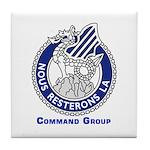 3ID Command Group Tile Coaster