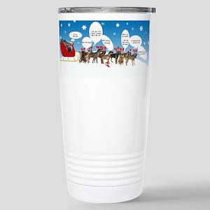 Border Terriers as Reindeer Mugs