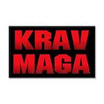 Krav Maga Car Magnet 20 x 12