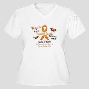 d45da0d42372b Multiple Sclerosis Women s Plus Size T-Shirts - CafePress