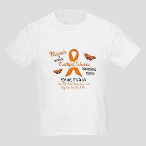 MS Awareness Month 2.1 Kids Light T-Shirt