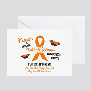 MS Awareness Month 2.1 Greeting Card