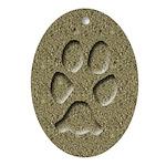 Coyote Track Keepsake Ornament