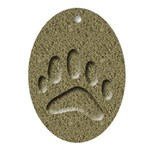 Badger Track Keepsake Ornament