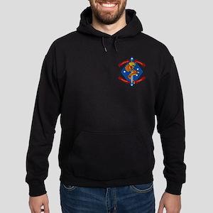 1st Bn 4th Marines Hoodie (dark) Sweatshirt