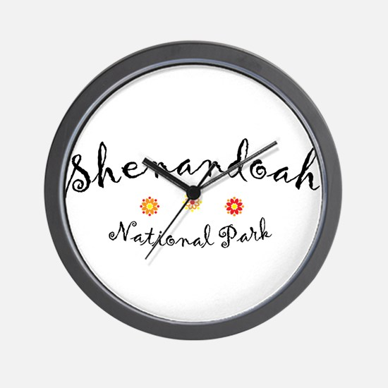 Shenandoah Super Cute Wall Clock