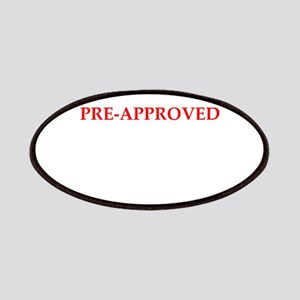 pre approved Patch