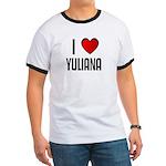 I LOVE YULIANA Ringer T