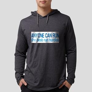 The Best Run Hurdles Long Sleeve T-Shirt
