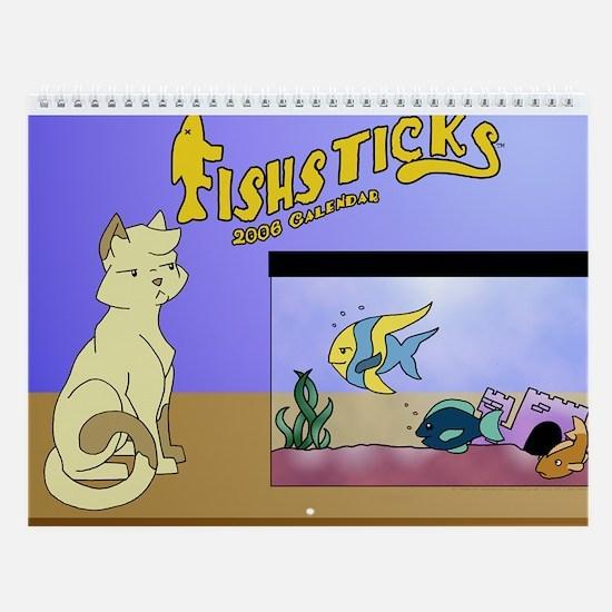 Fishsticks Wall Calendar