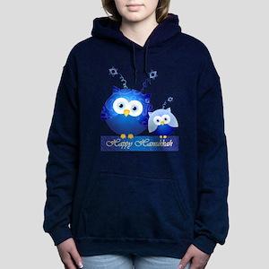 Happy Hanukkah Owl Sweatshirt