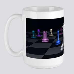 Chess Warriors Large Mug