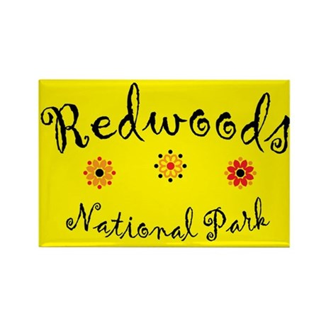 Redwoods Super Cute Rectangle Magnet