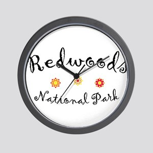 Redwoods Super Cute Wall Clock