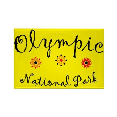 Olympic Super Cute Rectangle Magnet