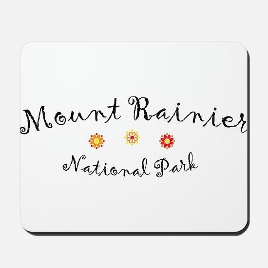 Mount Rainier Super Cute Mousepad