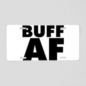 Buff AF Aluminum License Plate