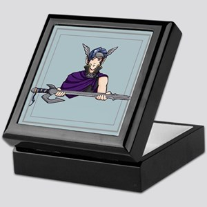 Elf Paladin Keepsake Box