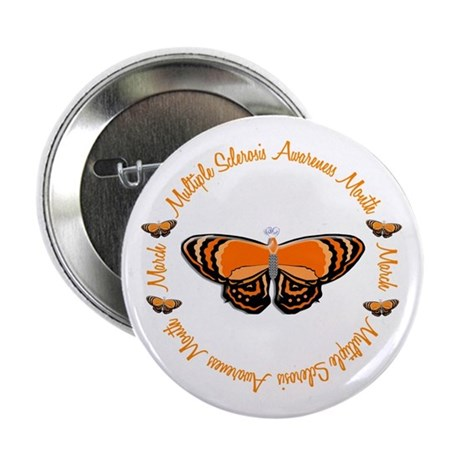 """MS Awareness Month 3.3 2.25"""" Button"""