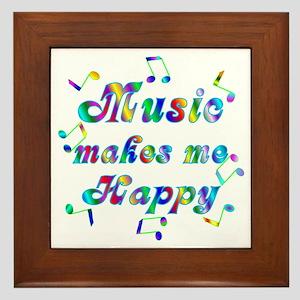 Music Framed Tile