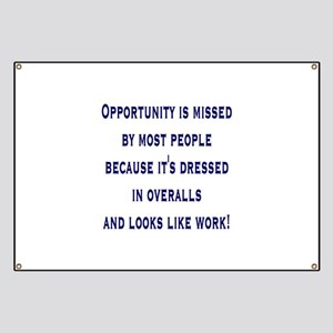 Opportunity is missed by mos Banner