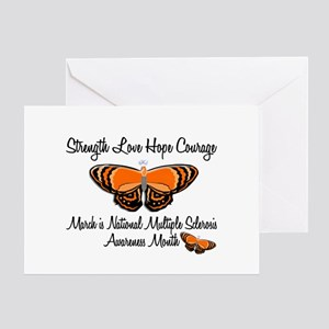 MS Awareness Month 3.2 Greeting Card