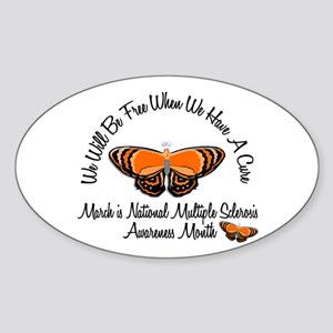 MS Awareness Month 3.1 Oval Sticker