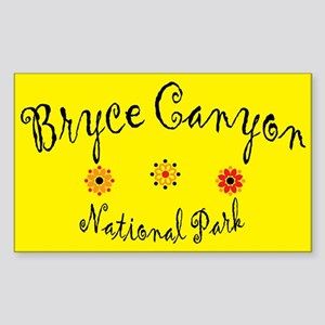 Bryce Canyon Super Cute Rectangle Sticker