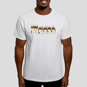 Black-Orange Fiyaaa Light T-Shirt