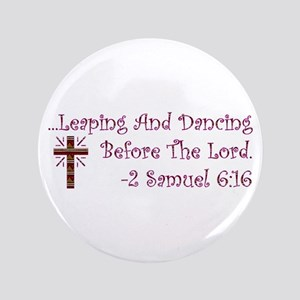 "Leaping & Dancing 3.5"" Button"