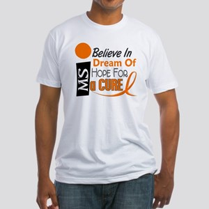 BELIEVE DREAM HOPE MS Fitted T-Shirt
