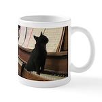 Piano Kitty Mugs