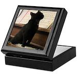 Piano Kitty Keepsake Box