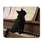 Piano Kitty Mousepad